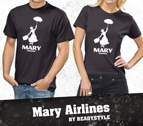 Mary Airlines tees