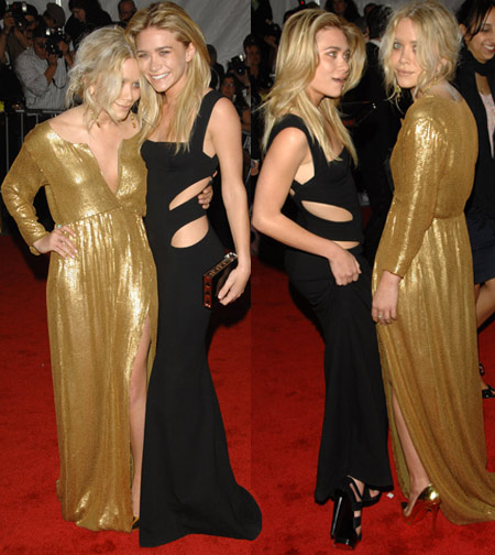 Mary-Kate and Ashley Olsen In Diane Von Furstenberg At The Met Gala