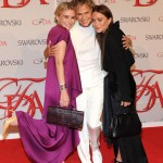 mary kate ashley olsen with Lauren Hutton at 2012 CFDA Awards wearing The Row