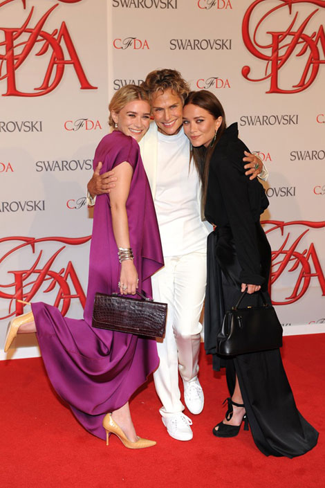 Ashley And Mary Kate Olsen Won The 2012 CFDA Award For The Row