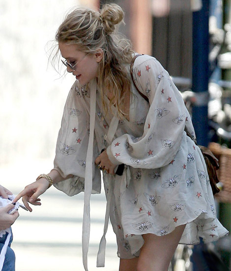 Mary Kate Olsen Hulanicki Topshop dress