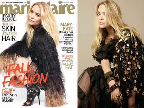 Mary Kate Olsen's Marie Claire September 2010