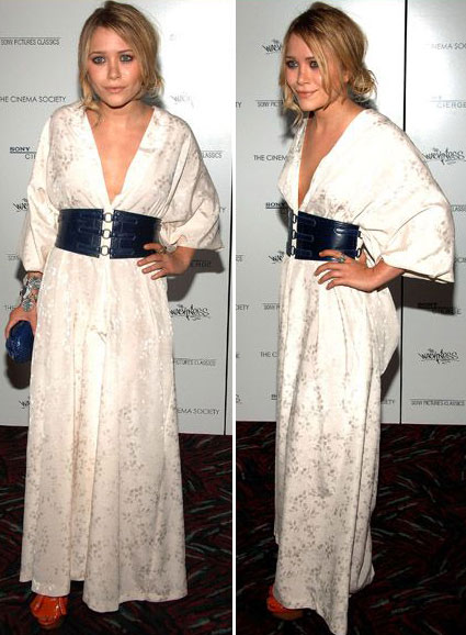 Mary-Kate Olsen Complete Wackiness At The Cinema Society Wackness Screening