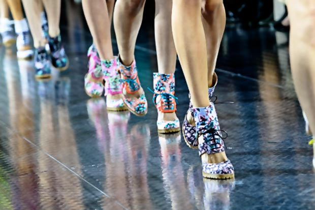 Mary Katrantzou Spring Summer 2014 shoes