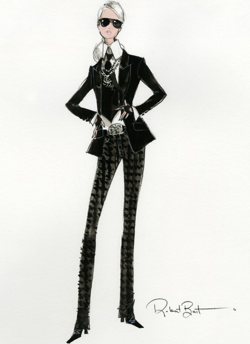 The Truth About The Lagerfeld Barbie Doll