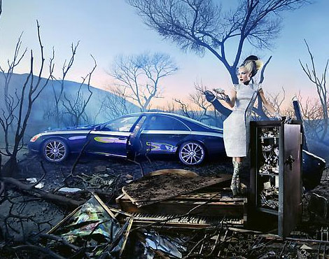Maybach Daphne Guinness David LaChapelle