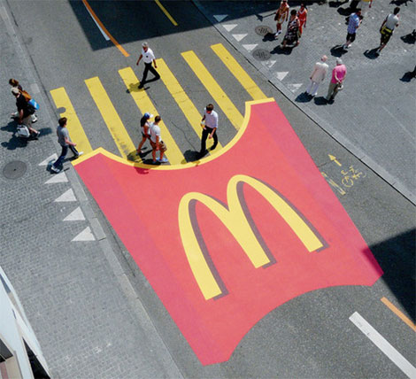 Tasty Pedestrian Crossing