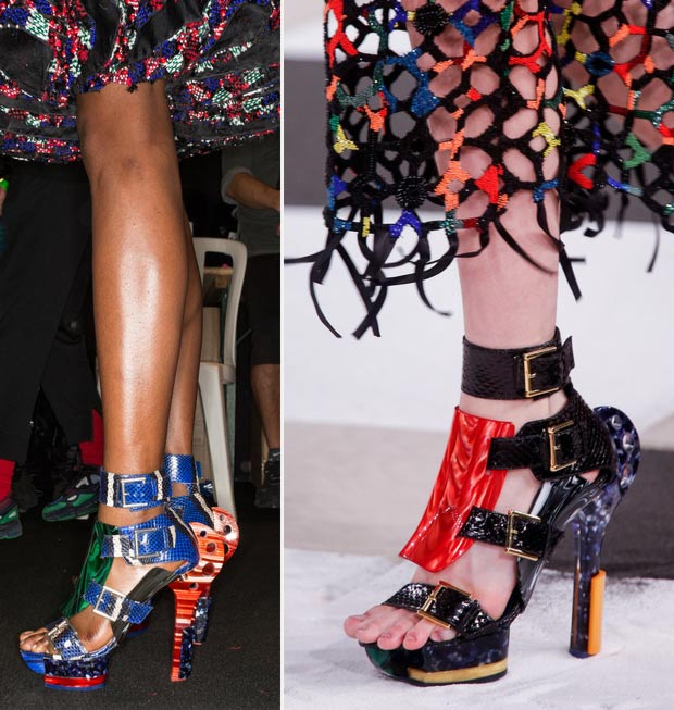 McQueen sandals Spring Summer 2014