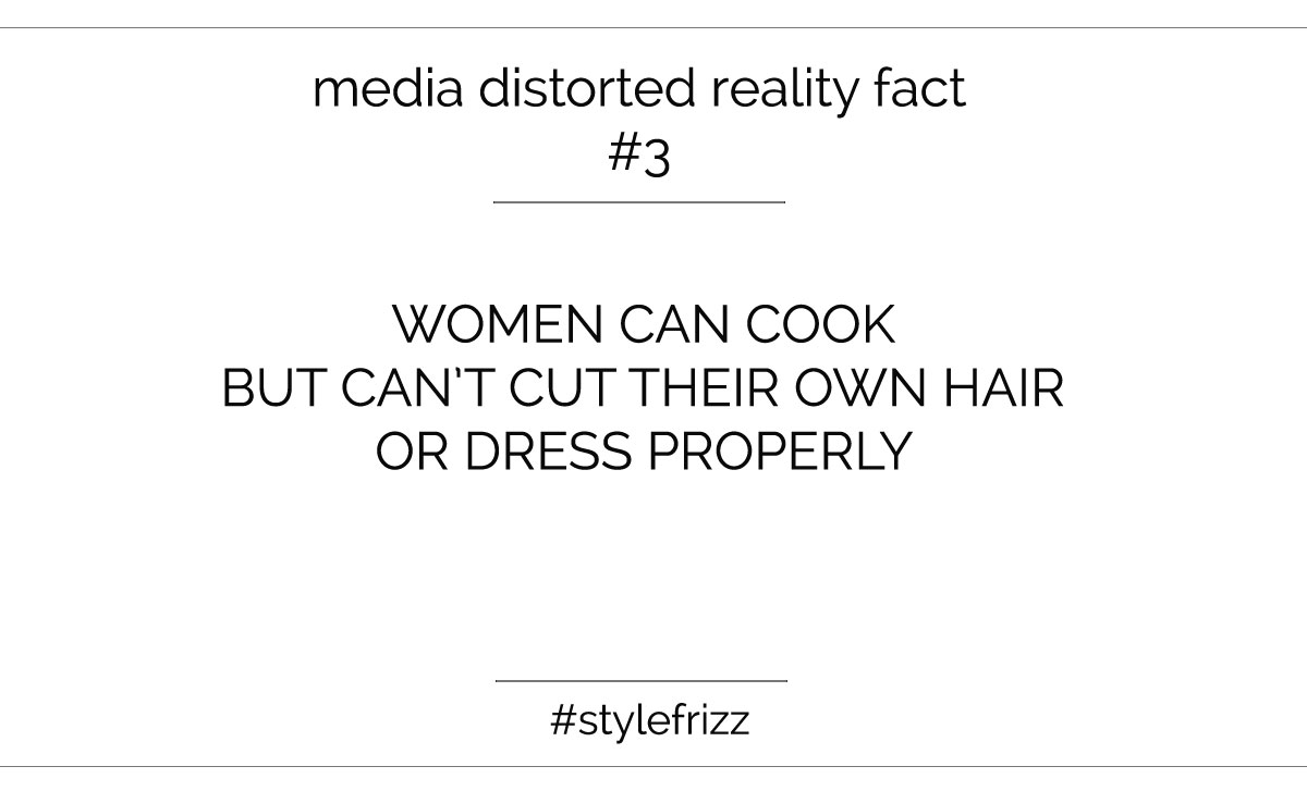 media distorted cooking reality
