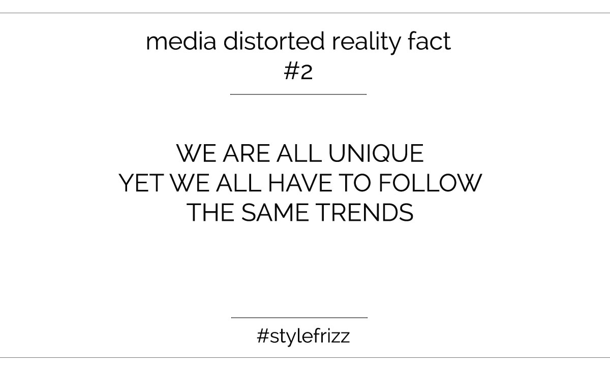 media distorted trends reality