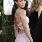 Megan Fox Armani Prive dress Golden Globes 2011 2