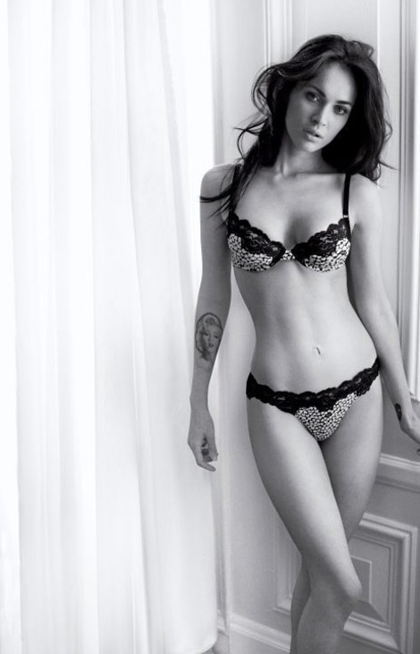 Megan Fox For Armani Underwear Fall Winter 2010