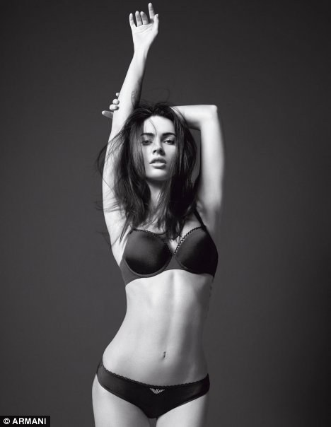 Megan Fox For Emporio Armani Underwear Spring Summer 2010 Ad Campaign
