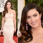 Megan Fox Dolce Gabbana dress 2013 Golden Globes