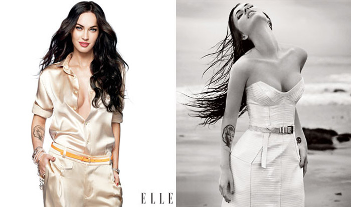 Megan Fox Elle June 2009 photos