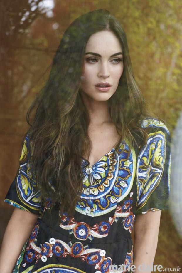 Megan Fox Marie Claire UK March 2013