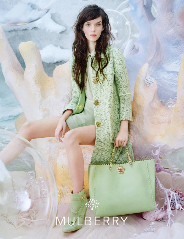 Meghan Collison Mulberry Spring 2013 campaign by Tim Walker