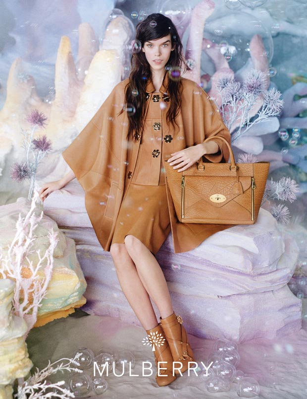Meghan Collison Mulberry Spring 2013 campaign