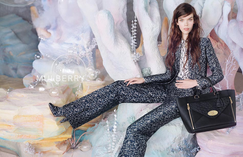 Meghan Collison Mulberry Spring campaign