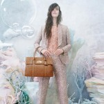 Meghan Collison underwater Mulberry Spring 2013 campaign