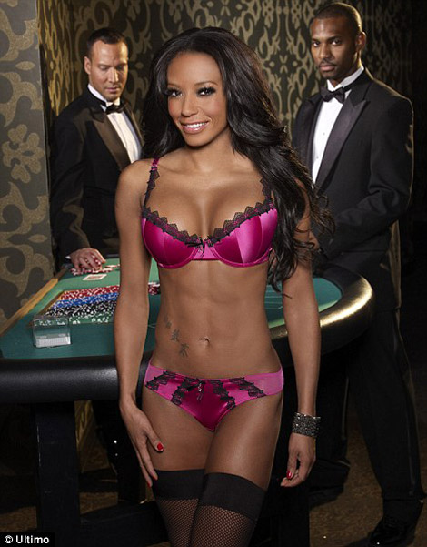 Mel B Ultimo Lingerie fall 2009 collection