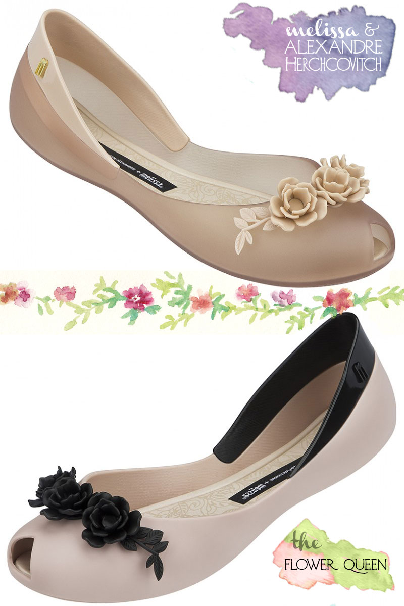 Melissa flats Alexandre Herchcovitch flowers shoes