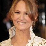 Melissa Leo lace Marc Bouwer dress 2011 Oscars