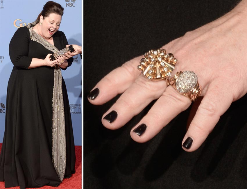 Melissa McCarthy nails 2014 Golden Globes