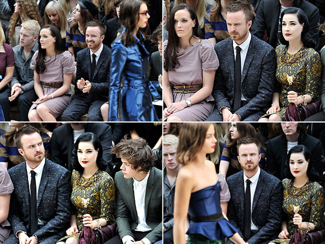 What Men Really Think About Fashion Shows. The Aaron Paul Edition
