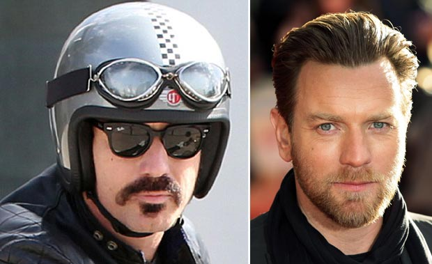 men facial hair looks Ewan McGregor