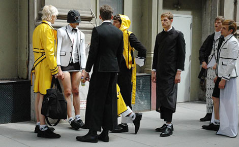 men fashion Thom Browne
