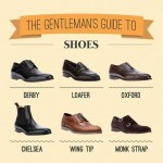 Men s wardrobe different shoes