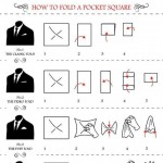 Men s wardrobe how to fold pocket square