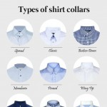 men s wardrobe shirts different collars