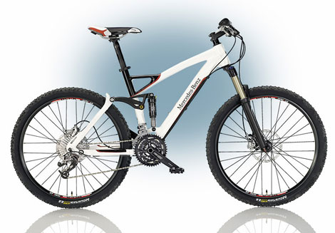 Mercedes Benz mountain bike