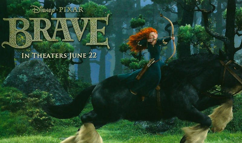 Merida Brave Disney Pixar movie