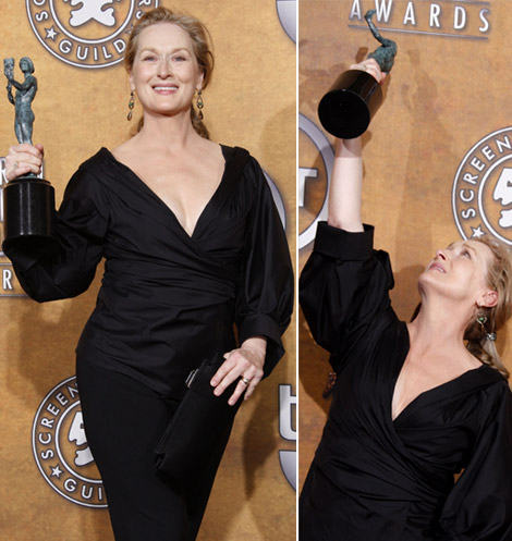 Meryl Streep 2009 SAG Awards winner Leading Female Actor
