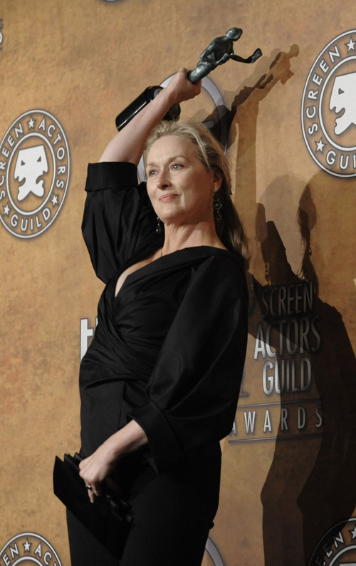 Meryl Streep 2009 SAG Awards winner Leading Female Actor 3