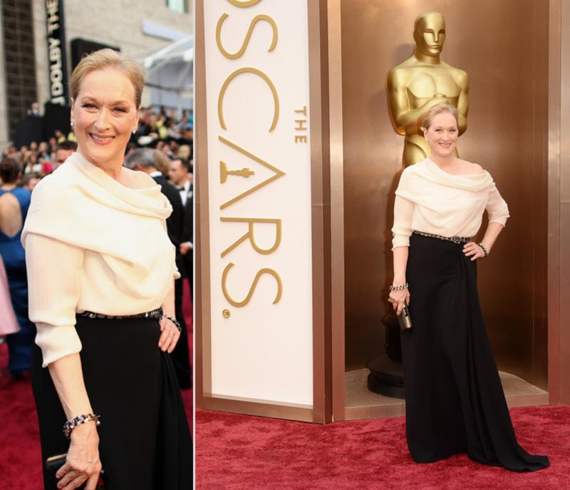 2014 Oscars Red Carpet Advanced Fashion: Meryl, June, Bette, Liza, Goldie, Glenn & More