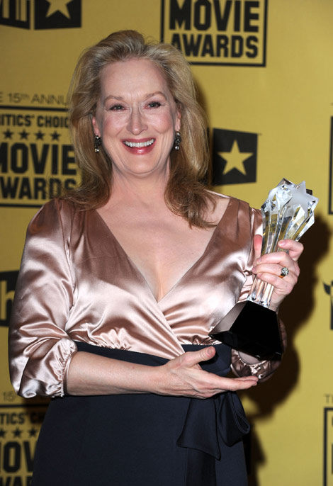 Meryl Streep Critics Choice Awards 2010