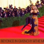Met Gala 2013 fashion Beyonce dress