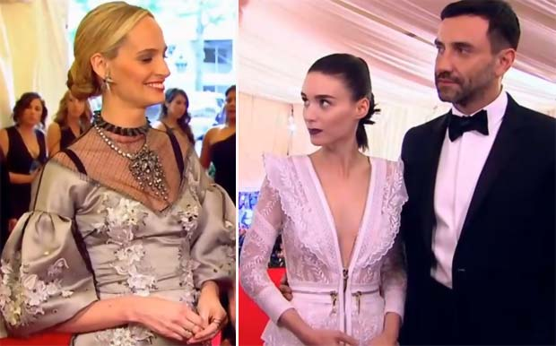 Met Gala 2013 Red Carpet Lauren Santo Domingo Rooney Mara Tisci