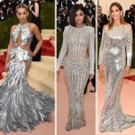 Met Gala 2016 Red Carpet silver dresses