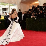 Met Gala Red Carpet 2014 SJP de la Renta dress