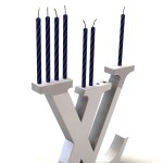 Michael Levy Louis Vuitton Menorah