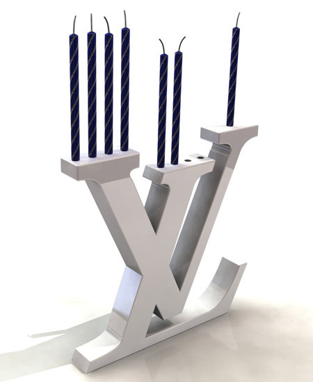 Fashionably Religious With Louis Vuitton Menorah