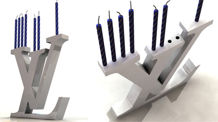 Michael Levy Louis Vuitton Menorah 2