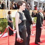 Michelle Dockery side peekaboo 2013 SAG Awards