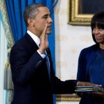 Michelle Obama new haircut second Swearing In