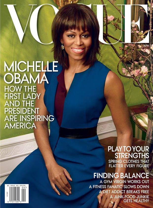 Michelle Obama Vogue US cover April 2013